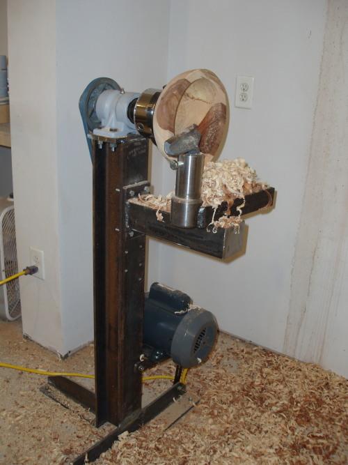 wood lathe bowl
